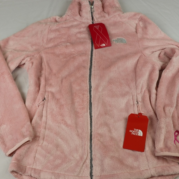 085eef6a8 TNF OSITO FLEECE,BREAST CANCER,PINK,SMALL,NWT! Boutique